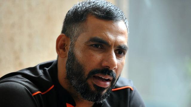 Anup Kumar beard hair